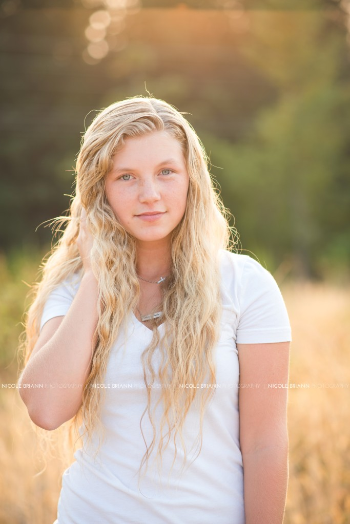Oregon Senior Portrait Photographer, Nicole Briann Photography, Natural Beauty Shoot, NBP Model Team